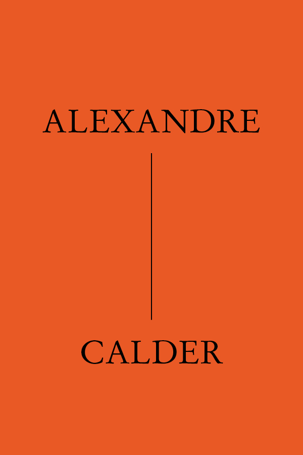 Alexandre Calder