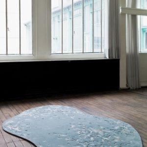 Tapis / Rug Après la Pluie by by Ulrika Liljedahl in situ