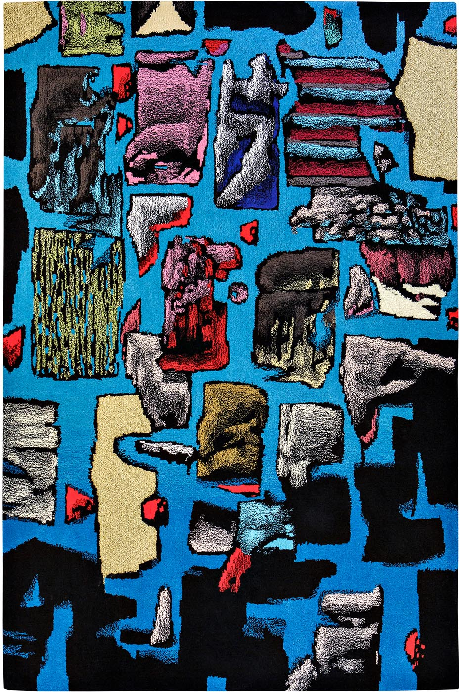 Tapis / Rug Blue Kit by Julien Colombier