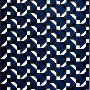 Tapis / Rug Constructivisme bleu vy Joséphine Pinton