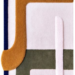 Tapis / Rug Element nomade 2 by Mapoesie Elsa Poux