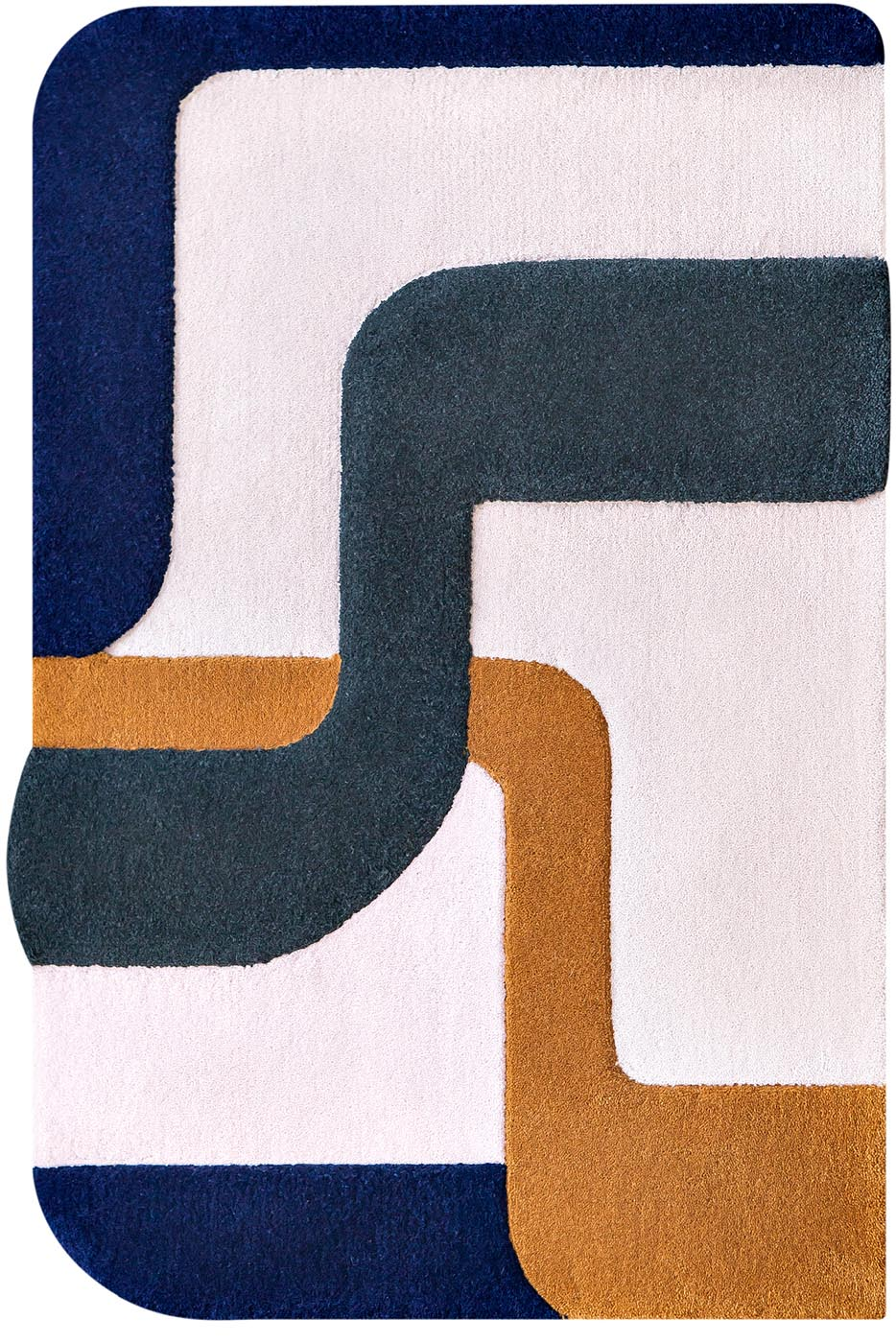 Tapis / Rug Element nomade 3 by Mapoesie Elsa Poux