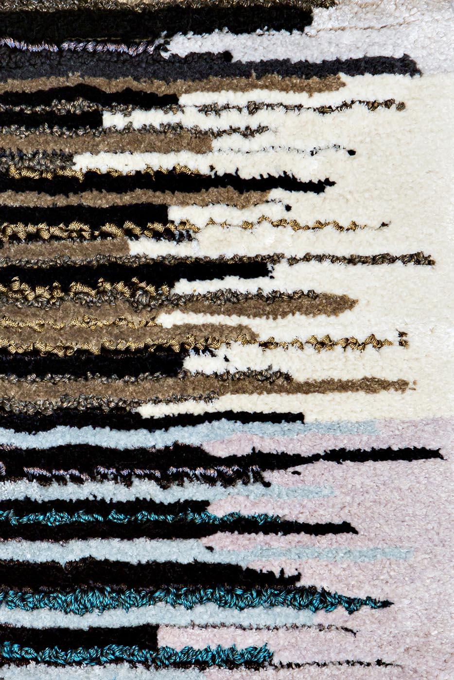 Tapis sur-mesure Resonnance by Ulrika Liljedahl