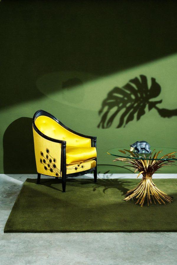 Tapis / Rug Vert by Pinton in situ