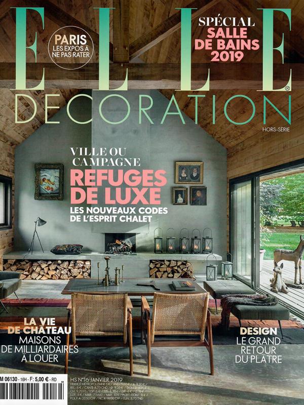 Elle Decoration - Janvier 2019