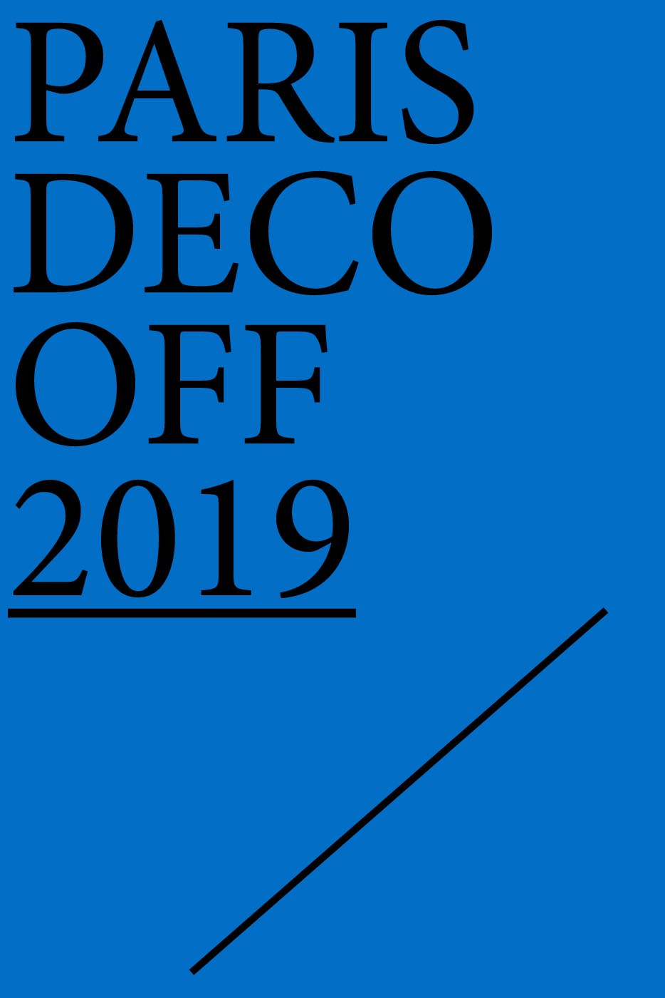 Paris Déco Off 2019