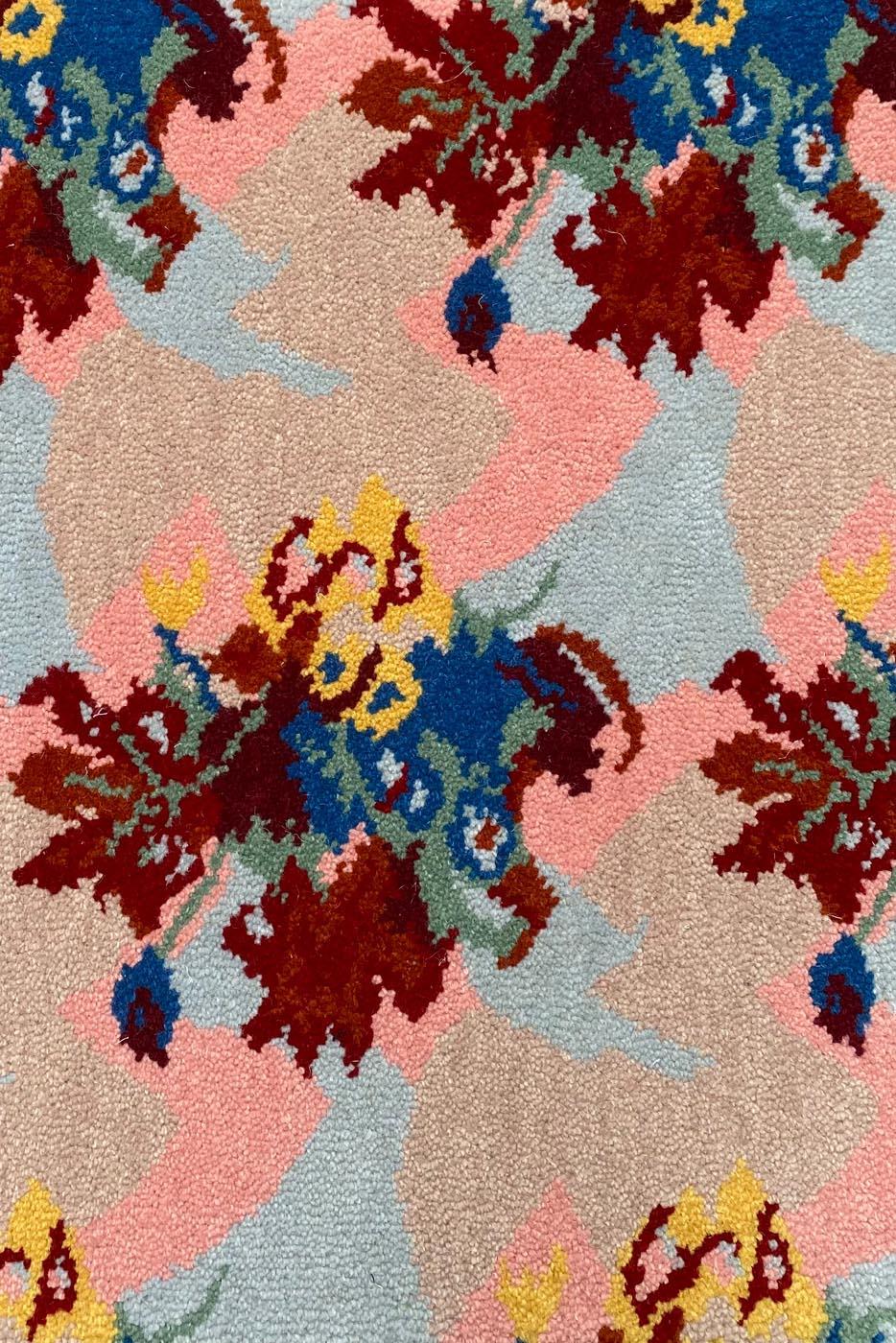 Carpet - Moquette Goo by Clémentine Chambon