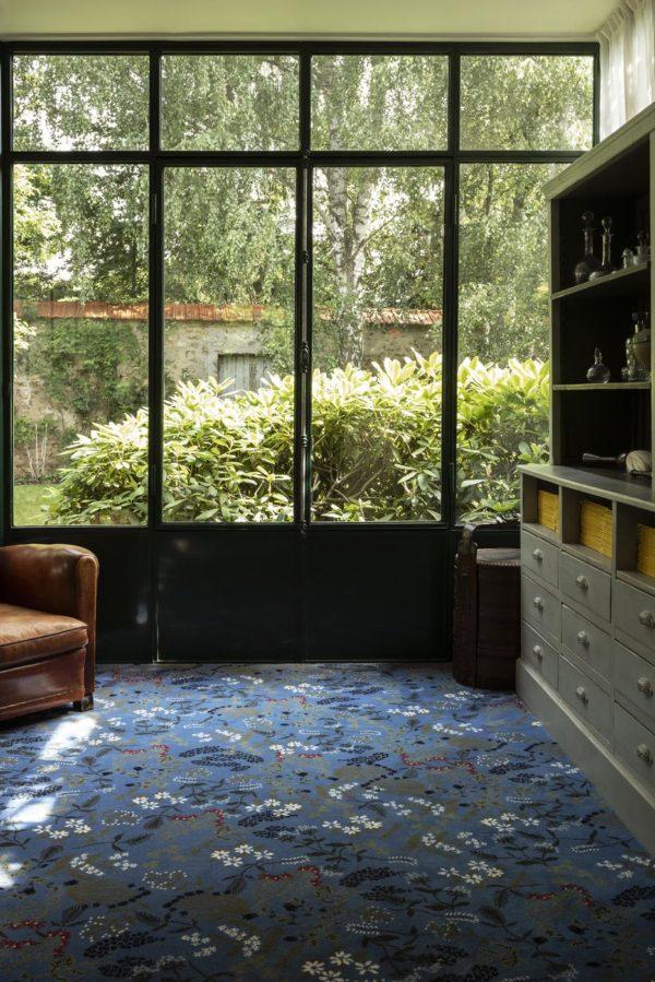 Carpet - Moquette Millefleurs by Pinton