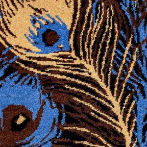 Carpet - Moquette Paon de nuit by Joséphine Pinton