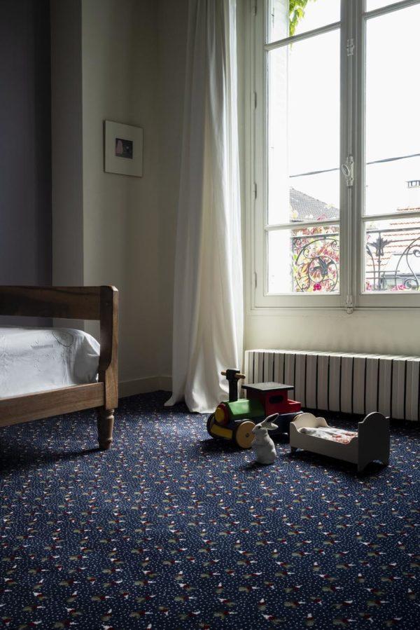 Carpet - Moquette Radis by Joséphine Pinton