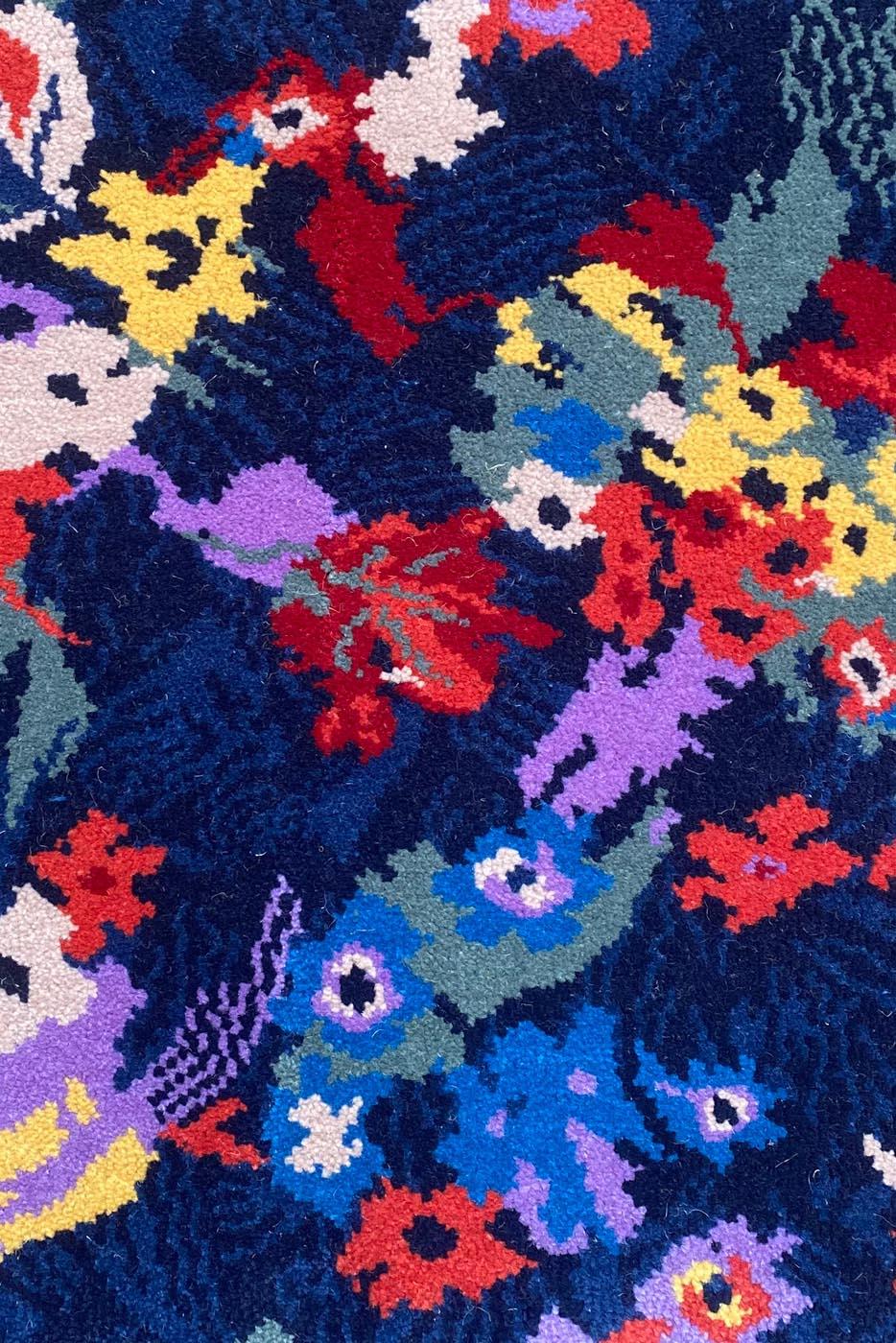 Carpet - Moquette Sonic by Clémentine Chambon